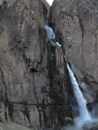 Waruro Waterfall in Colca Canyon