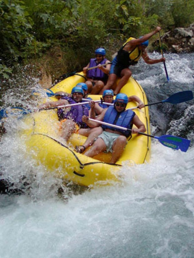 Rafting Colca River