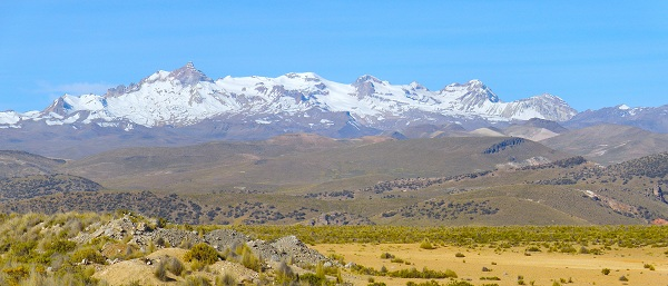 Andes near Arequipa