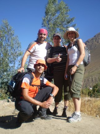 Colca Canyon trekkers