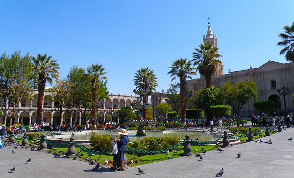 Main Square in Arequipa
