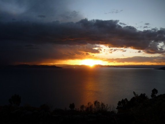 Sunset at Taquile Island